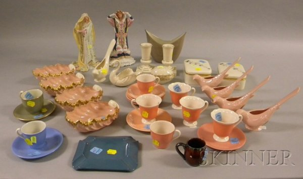 21: Thirty-six Assorted Lenox Porcelain and Bisque Figu