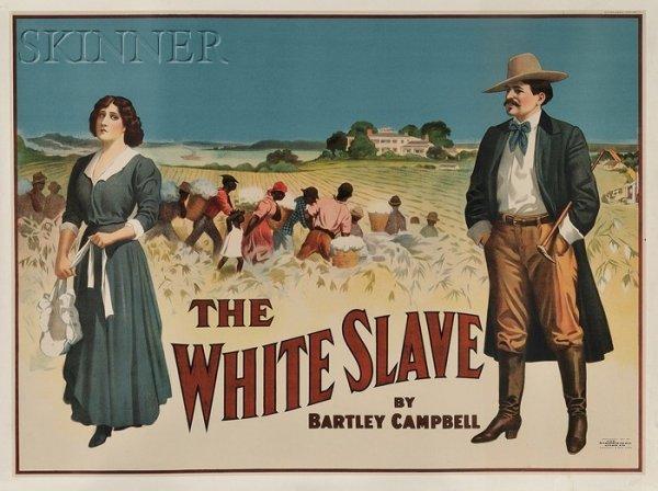 4: American School, 20th Century The White Slave, 1911.