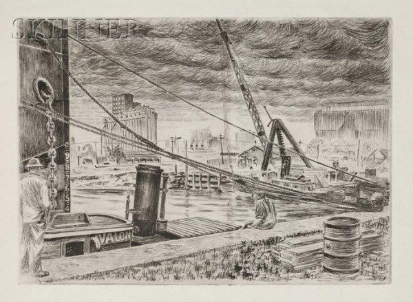 5: Niels Yde Andersen (Danish/American, 1888-1952) Lot