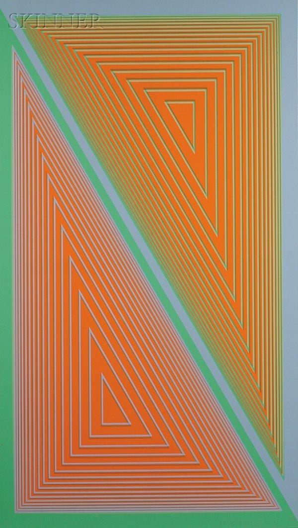 11: Richard Anuszkiewicz (American, b. 1930) Triangulat