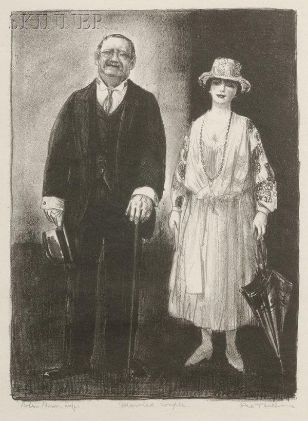 24: George Wesley Bellows (American, 1882-1925) Married