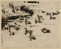 28 Frank Weston Benson American 18621951 Ducks at