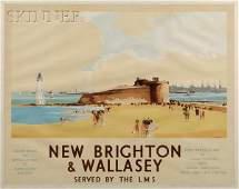 43: Claude Buckle (British, 1905-c. 1973) New Brighton