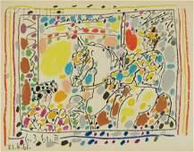 201: Pablo Picasso (Spanish, 1881-1973) Le Picador II,