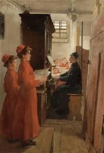 334A: Continental School, 19th Century The Boys' Choir
