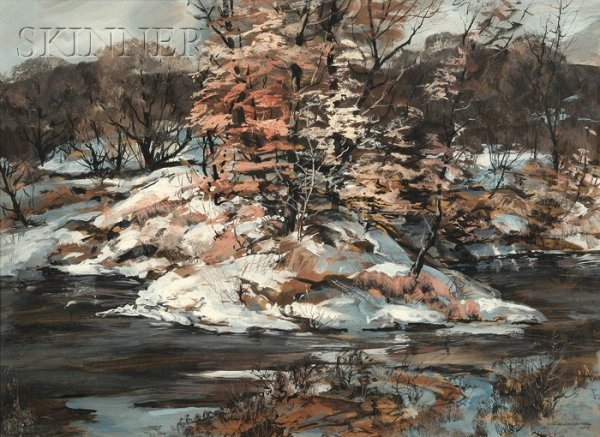 457: Carl Frederick Gaertner (American, 1898-1952) Octo