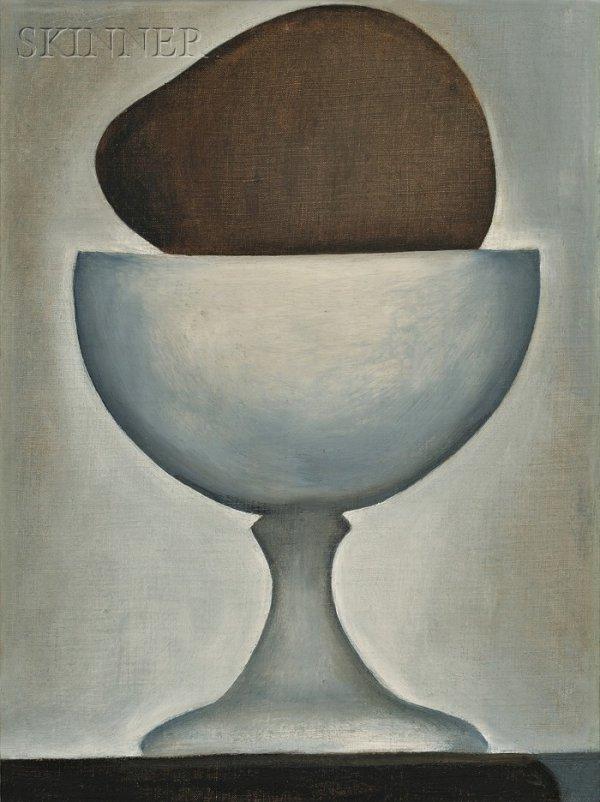 608: Georgia O'Keeffe  (American, 1887-1986), Alligato