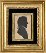 462 Pair of Silhouette Portraits William Balche Angl