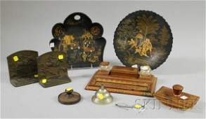 743 Group of Assorted Desk and Decorative Items a gil