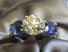 252A: Diamond Solitaire, prong-set with an old European