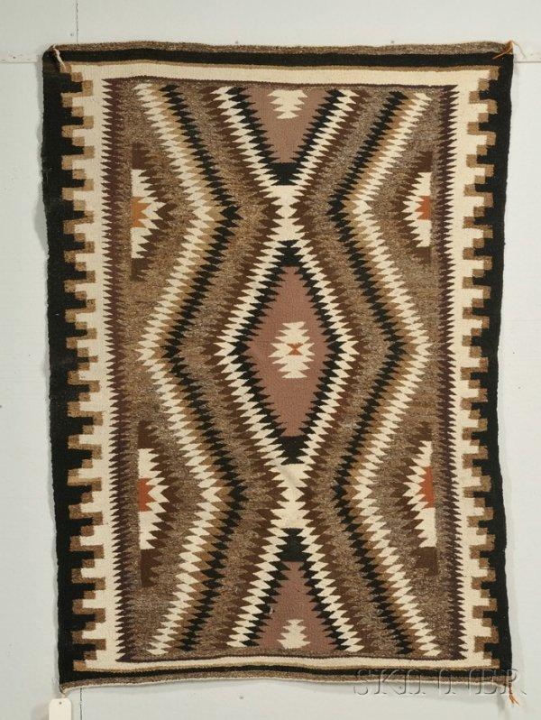 13: Navajo Regional Rug Wool Second quarter 20th centur