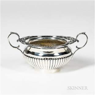 Late Victorian Sterling Silver Open Sugar