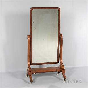 Maple Cheval Mirror