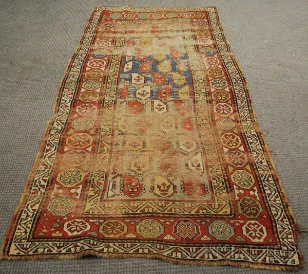 503: South Caucasian Long Rug, 19th century, 7 ft. 10 i