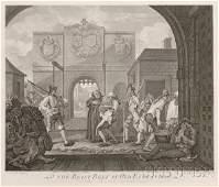 352A William Hogarth British 16971764 O The Roast