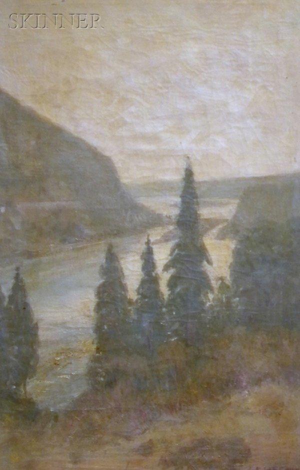 6: Edwin Willard Deming (American, 1860-1942) Pines and