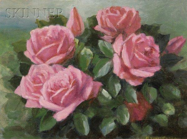 7: Mae Bennett Brown (American, 1887-1973), Bouquet of