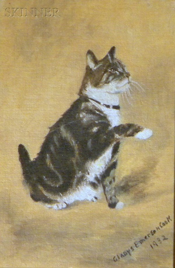 8: Gladys Emerson Cook (American, b. 1899) The Tabby Si