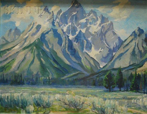 9: Joseph Pfanner Nash (American, 1900-1955), View of G