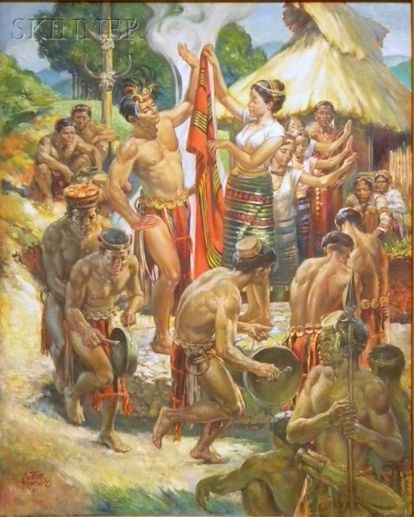 "18: Nestor Redondo (Filipino, 1928-1995) ""TAKIK"" A Bont"