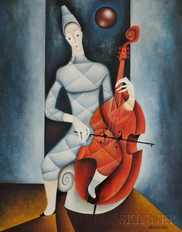 19: Jose Maria de Servin (Mexican, 1917-1995) The Celli