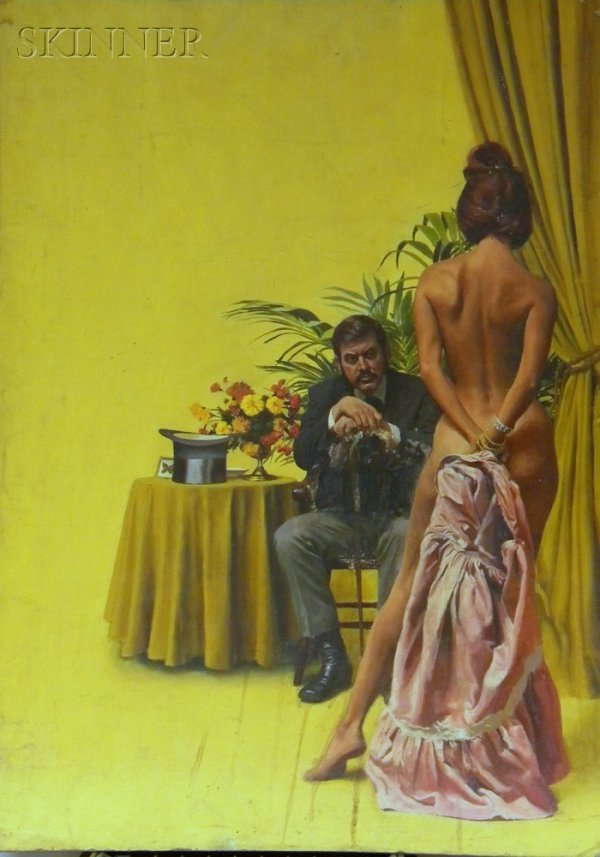 20: American School, 20th Century A Romance Book Cover
