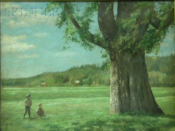 21: Franco/American School, 19th/20th Century, Two Boys