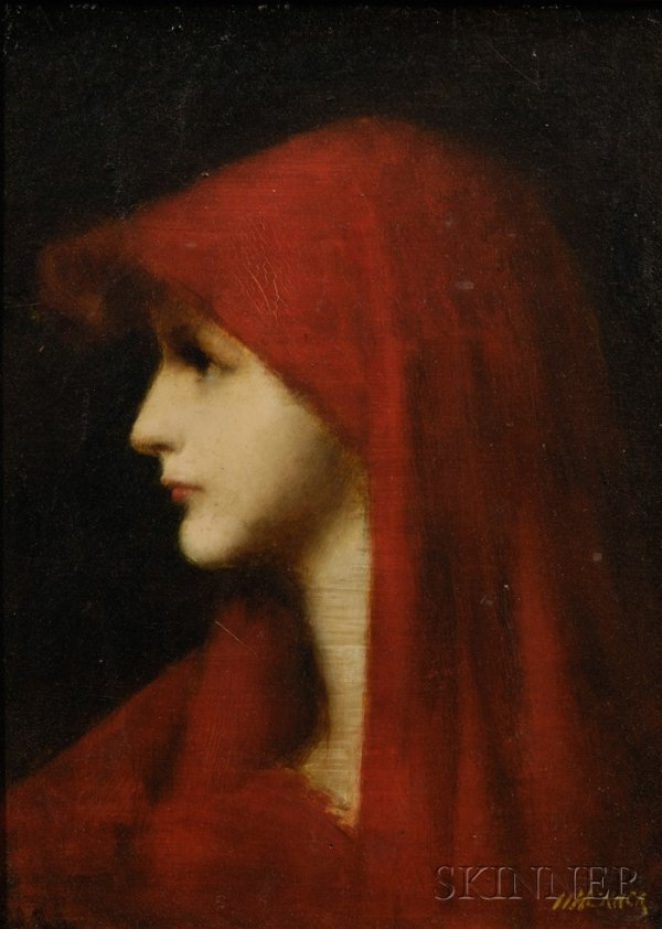 26: After Jean-Jacques Henner (French, 1829-1905), Fabi