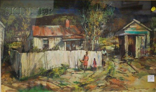 498: Carl Frederick Gaertner (American, 1898-1952) Toba