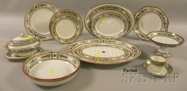 502: Partial Set of Copeland Roma Pattern China, includ
