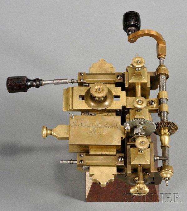 3: Brass Fusee Engine by Ferdinand Berthoud, Paris, las