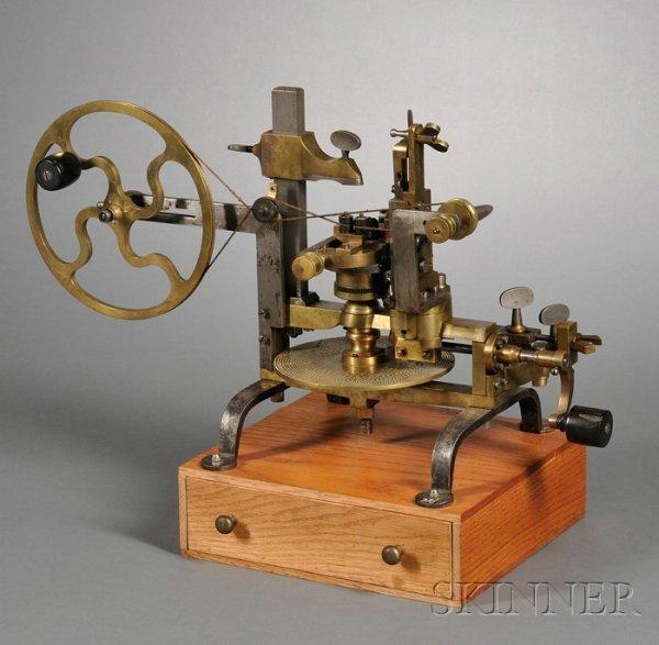 13: Brass, Iron and Steel Wheel Cutting Engine, Switzer