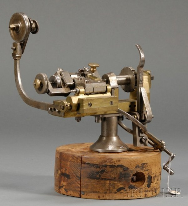 15: Cylinder 'Scape Wheel Engine, late 19th century, th