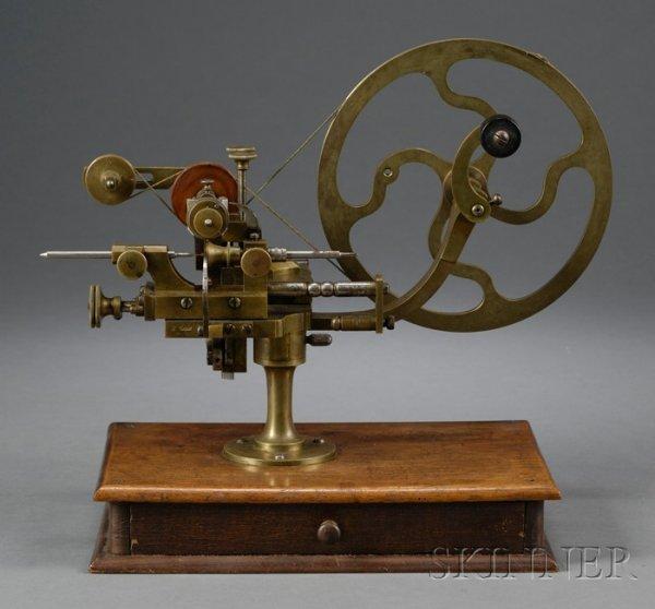 21: Brass and Steel Rounding-up Tool, Switzerland, last