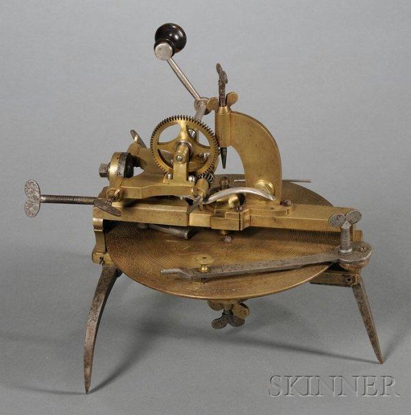 100: Brass and Steel Wheel Cutting Engine, Daniel Sepht