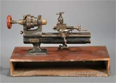 288 Watchmakers Lathe by Stark Tool Company Waltham