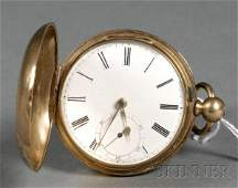 479: Gold Filled Hunting Case Pocket Watch by Jos. John