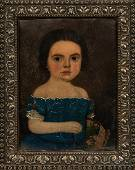 American School, Mid-19th Century, Portrait of a Young