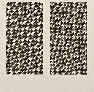 Anni Albers (German, 1899-1994) Fox II, 1972, editio