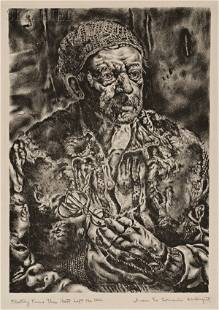 Ivan Le Lorraine Albright (American, 1897-1983) Flee