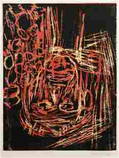 Georg Baselitz (German, b. 1938) Head, 1984, editio