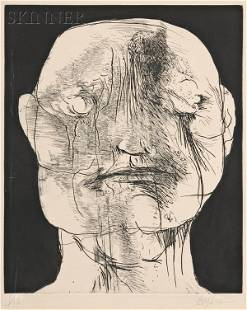 Leonard Baskin (American, 1922-2000) William Blake,