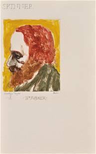 Leonard Baskin (American, 1922-2000) William Rimmer