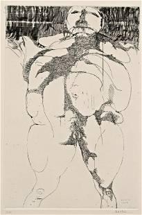 Leonard Baskin (American, 1922-2000) Lot of Two Ima