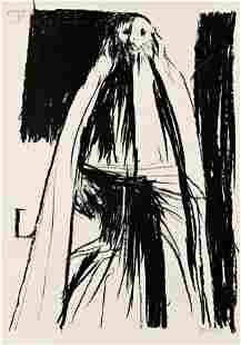 Leonard Baskin (American, 1922-2000) Lot of Two Cla