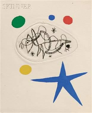 67: Max Ernst (German, 1891-1976), Joan Mir? (Spanish,