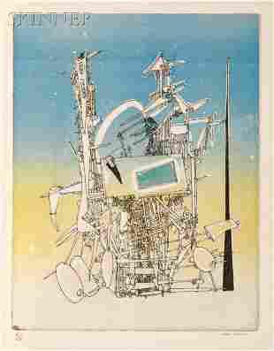 164: Yves Tanguy, illustrator (French/American, 1900-19