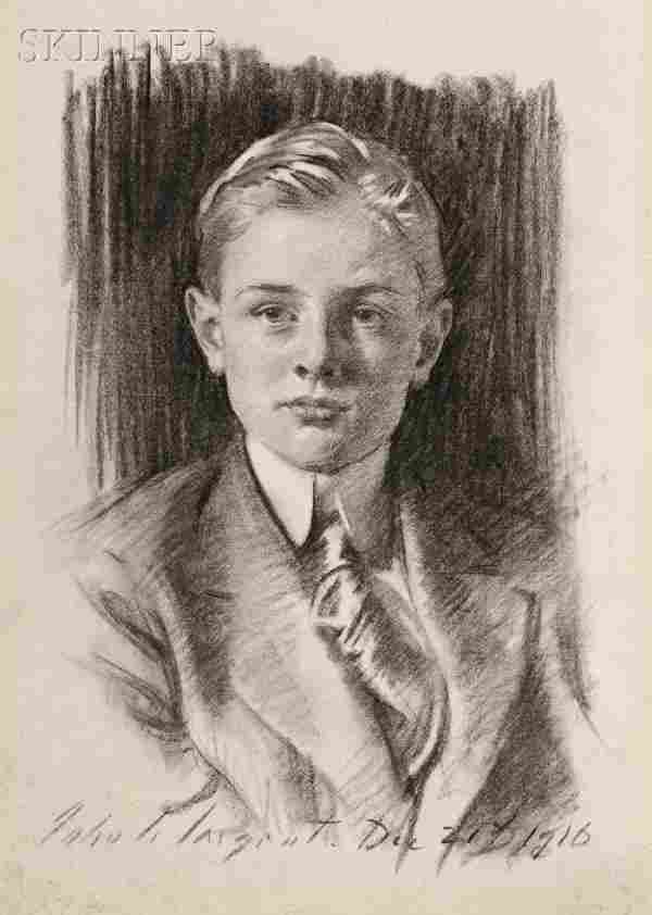 John Singer Sargent (American, 1856-1925) Portrait