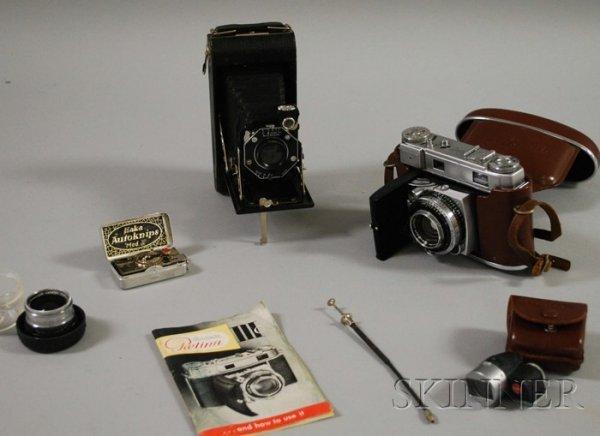 7: Kodak Retina III C and a Kodak Junior Six-20 Folding