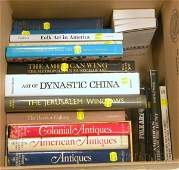 210: Seventeen Antiques and Art Reference Books, includ